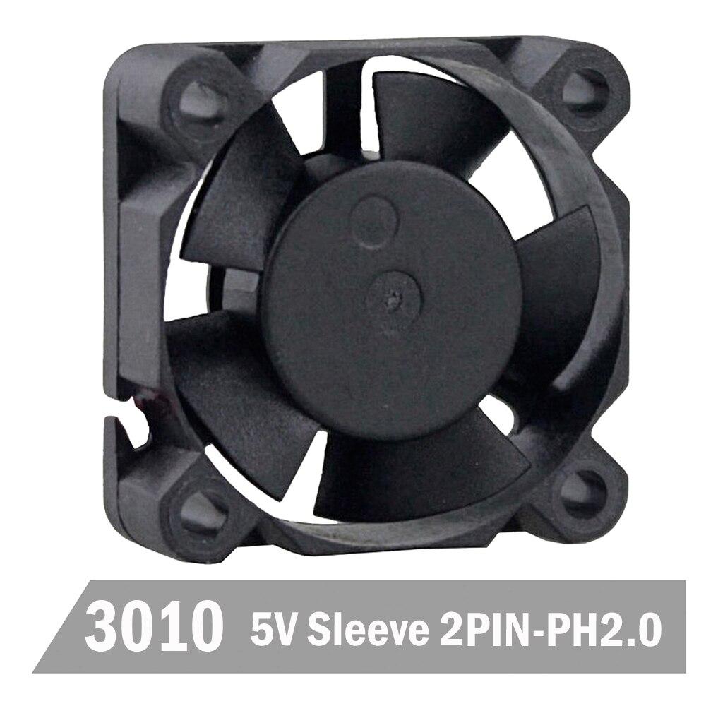 10PCS Gdstime 3010 3cm 30mm 30x30x10mm 2Pin 5V DC Micro Heatsink Cooling Fan