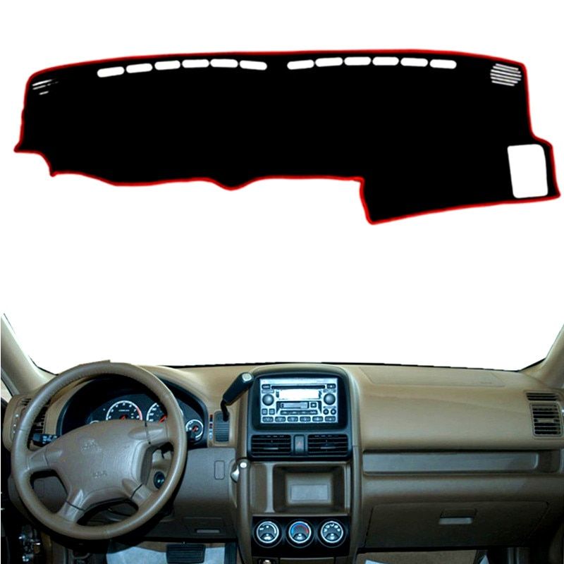 Dashmat Dashboard Cover Mat Pad Sun Shade Instrument Carpet Car Styling Accessories For Honda CR-V CRV 2002 2003 2004 2005 2006