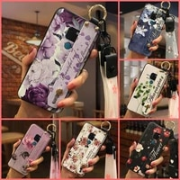 wrist strap phone holder phone case for huawei mate 20 shockproof soft lanyard new arrival