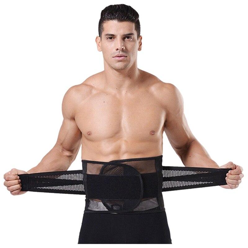 Cinturón moldeador de cintura abdominal para hombres faja para reducir la grasa quemada XL