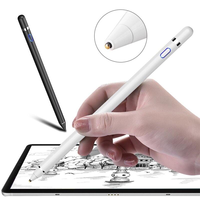 Lápiz táctil activo inteligente, lápiz capacitivo universal para tableta samsung galaxy para Apple iPad 10,2 mini 5 4 Air 1 2 3