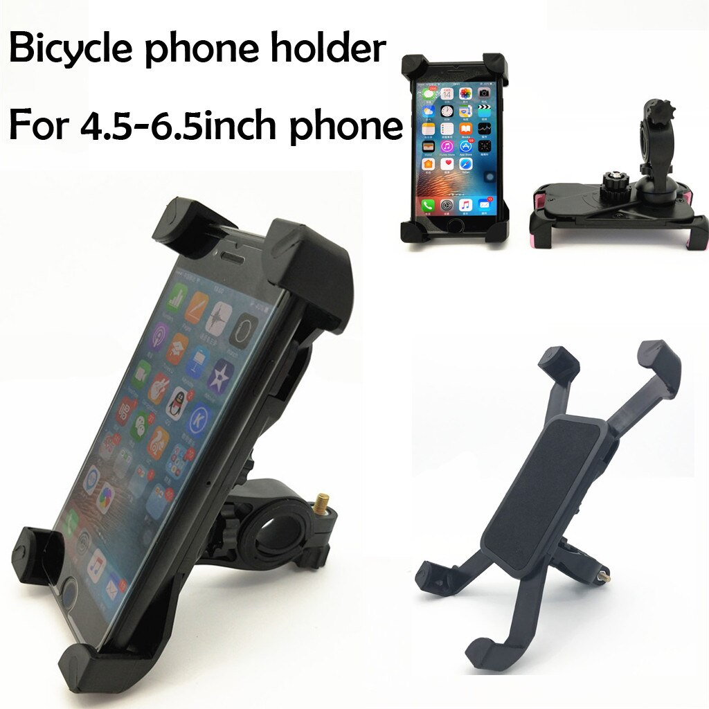 Soporte de teléfono para bicicleta MTB, soporte de teléfono antichoque, soporte de Clip para teléfono, IPhone Samsung GPS para soporte de montaje, teléfono móvil