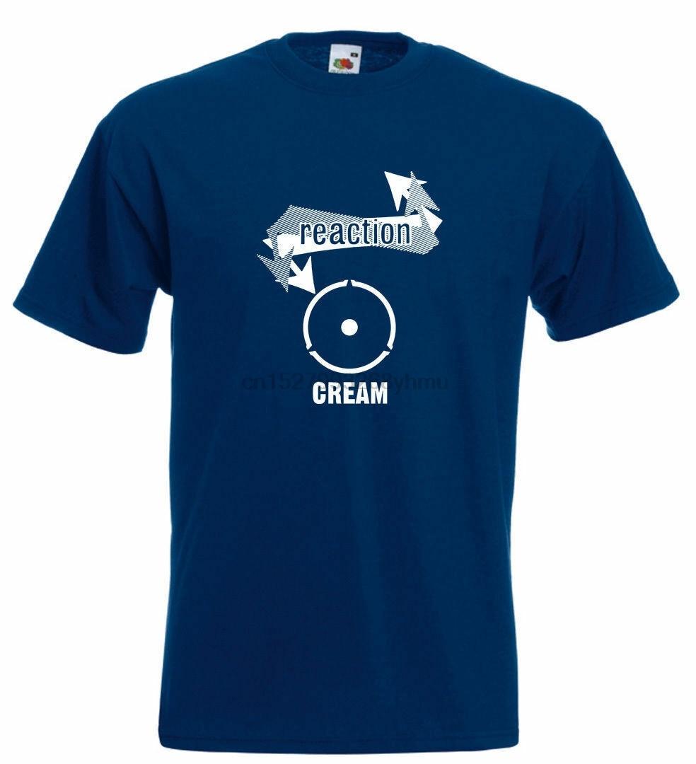 Camiseta crema vinilo 45 Eric Clapton Jack Bruce Ginger Baker Placa de cruce