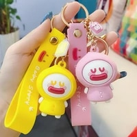 qatong small adorable key chain chain female personality creative car bag pendant lovely keychain ring wholesale 2020
