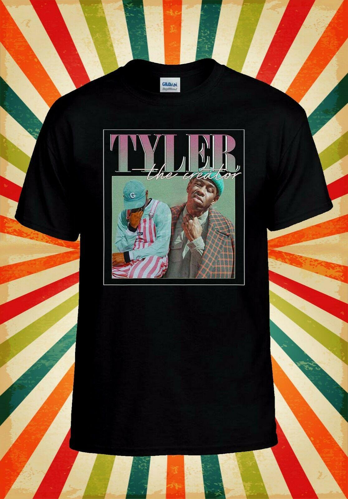 Tyler The Creator cantante de Rap divertido hombres mujeres chaleco camiseta sin mangas Unisex camiseta 2414