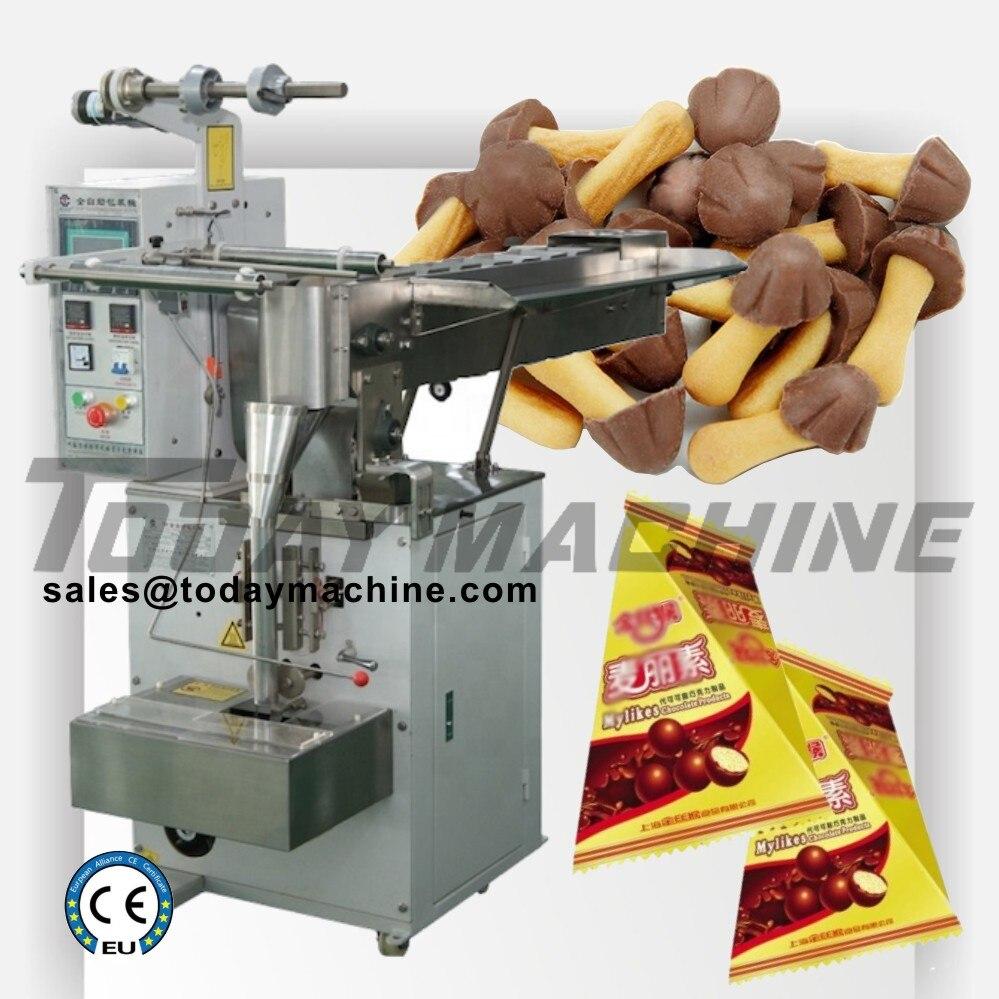 Máquina de embalagem de alimentos para animais de estimação horizontal automática máquina de embalagem de alimentos de biscoito de grãos de café com zíper