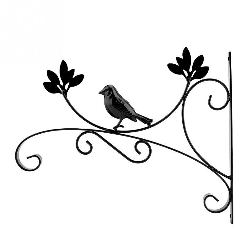 Soporte de cesta colgante para linternas de pared, ganchos de plantas, alimentador...