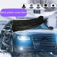 strong magnetic car sunshade snow cover vinyl waterproof anti frost tearing for car accessories car cover sun shade windshield