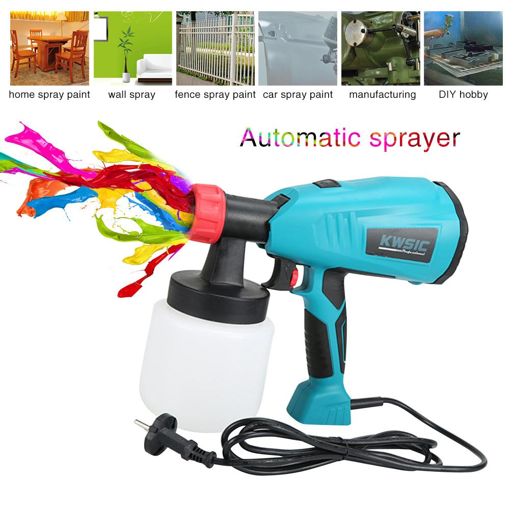 Abnehmbare Hochdruck Elektrische Sprayer Latex Farbe Spritzen Maschine 400w Airless Farbe Spray