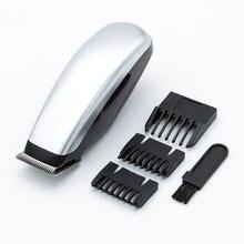 Mini Clipper Shaver Portable Mini Electric Beard Trimmer Hair Cutting Machine Men Razor with 3 Combs