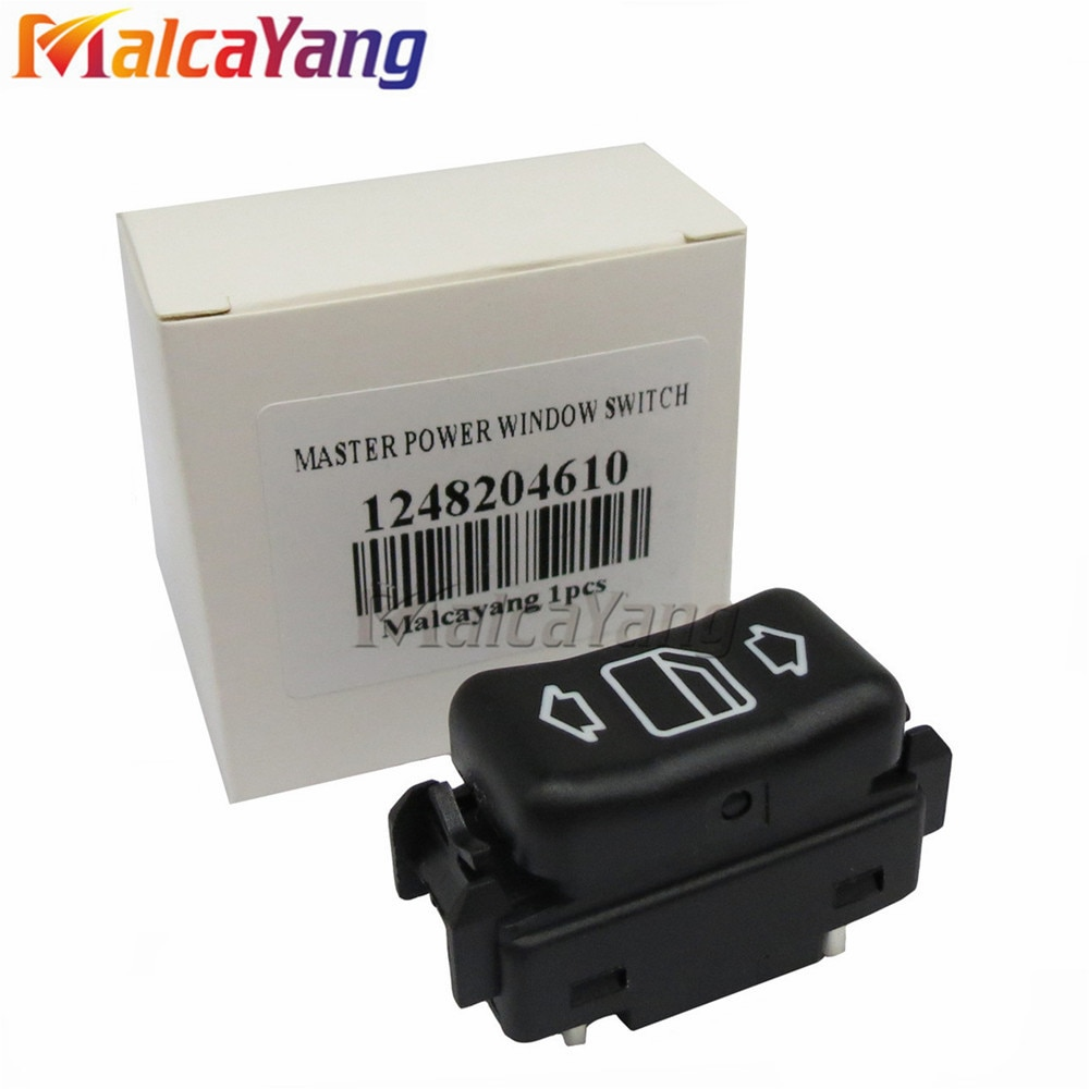 1248204610 direito Interruptor de Controle Mestre Janela de Energia Elétrica Para Mercedes Benz W124 W463 W126 C124 S124 190 W201 260 300