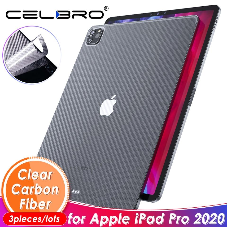 Наклейка из углеродного волокна для IPad Pro 11/12.9 2020 2018 Защитная матовая задняя пленка для Apple IPad Pro 11 12 9 Защита кожи