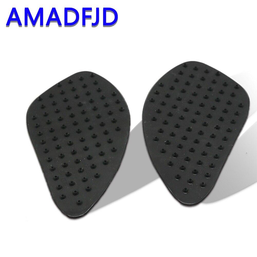 3D de fibra de carbono de la motocicleta de tanque de tracción antideslizante Pad lateral de Gas para rodilla Protector de agarre para CBR600 1000 RR CBR400Decals