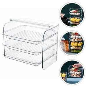 1 set of Side Dishes Plate Kitchen Wall Tray Storage Holder Food Storage Rack
