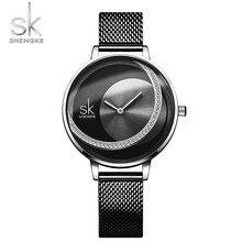 Haute qualité SK femmes regarder la conception de la personnalité avec élégant 30m étanche montre femme cadeau