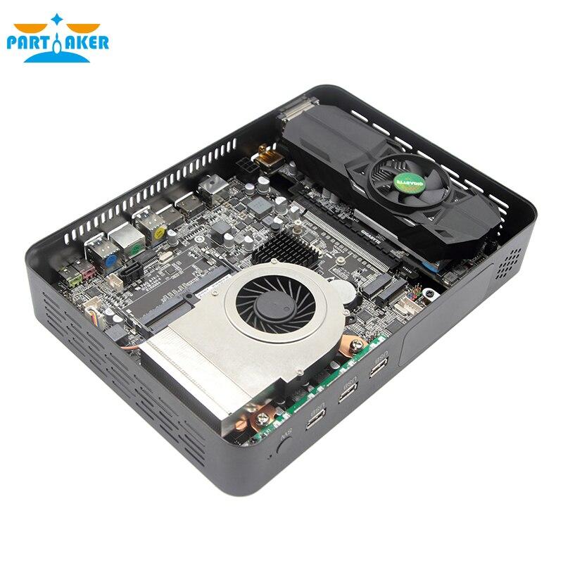 Gaming Desktop PC Intel Core i9-9900 GTX1050TI 4GB GTX1650 4G 2*DDR4 Mini PC Windows 10 M.2 PCIE 4K HDMI2.0 DP WiFi enlarge
