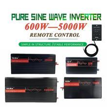 Onduleur électrique onde sinusoïdale pur   110V/24V/48V/60V/72V à AC, 120V/220V/230V/240V/V, outil de convertisseur pour maison bateau/solaire