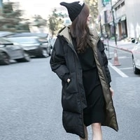 cotton new winter long 2020 womens coats with hooded fashion ladies padded jacket parkas for women warm outwear feminina yxr398