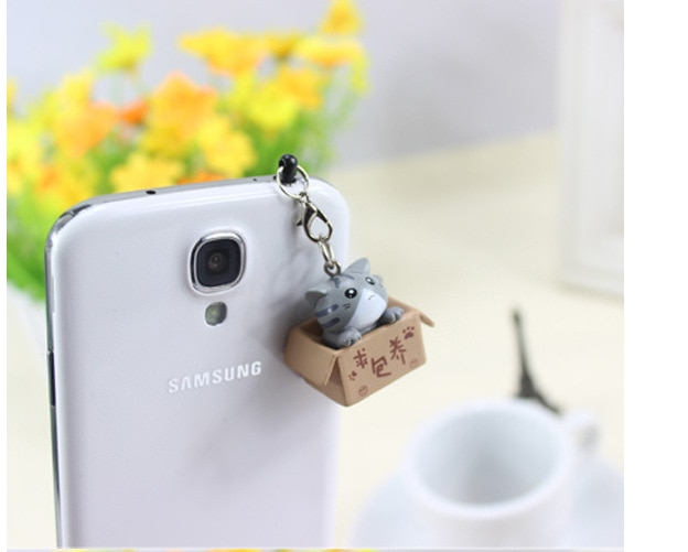 Поиск питомцев в стиле кошки 3,5 мм, милый дизайн мультяшного кота, мобильный телефон, заглушка от пыли для Iphone Samsung, заглушка от пыли-3