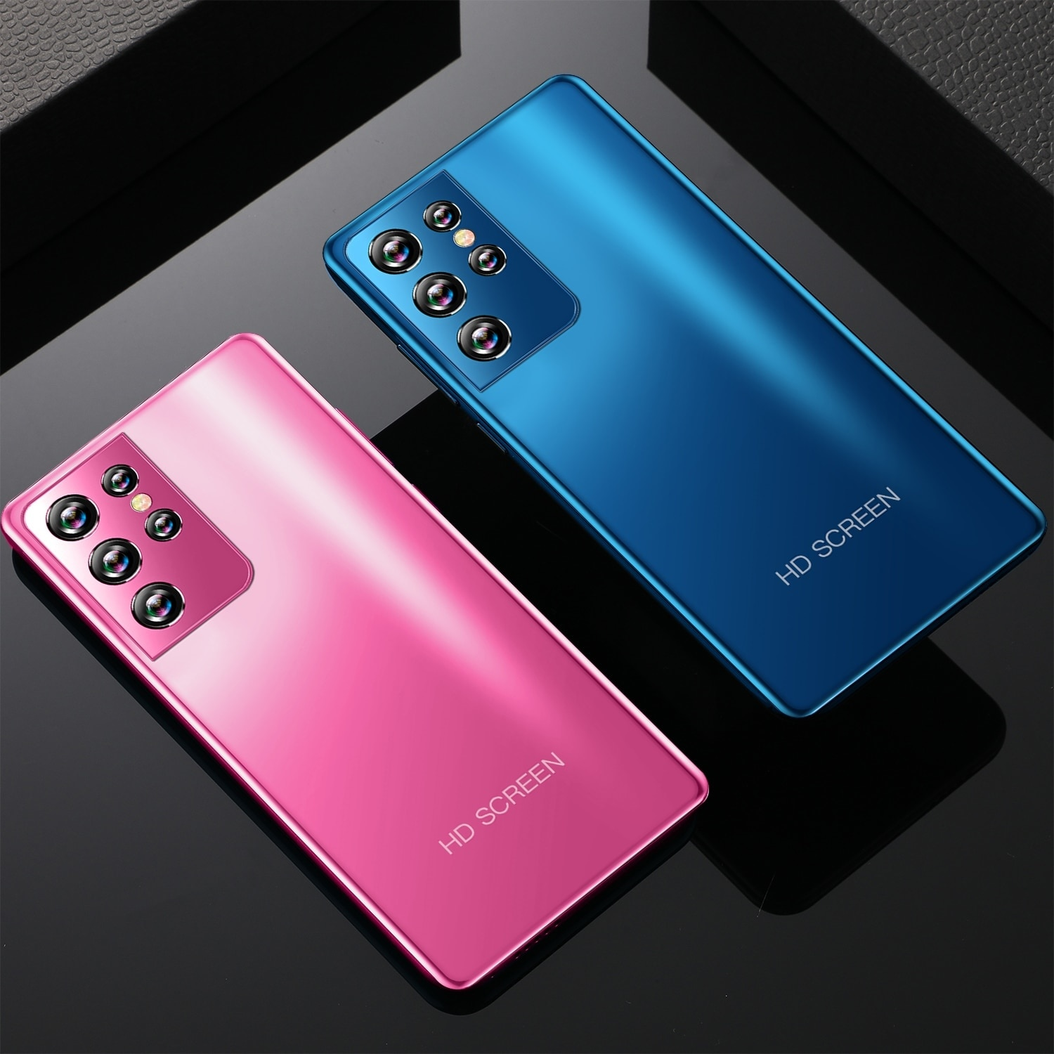 Cheap Phone S21 Ultra Drop Screen Smartphone 6+128G 5.0inch 10 Core MT6889 16MP+32MP Android 10 4G 5G Fingerprint Face ID enlarge