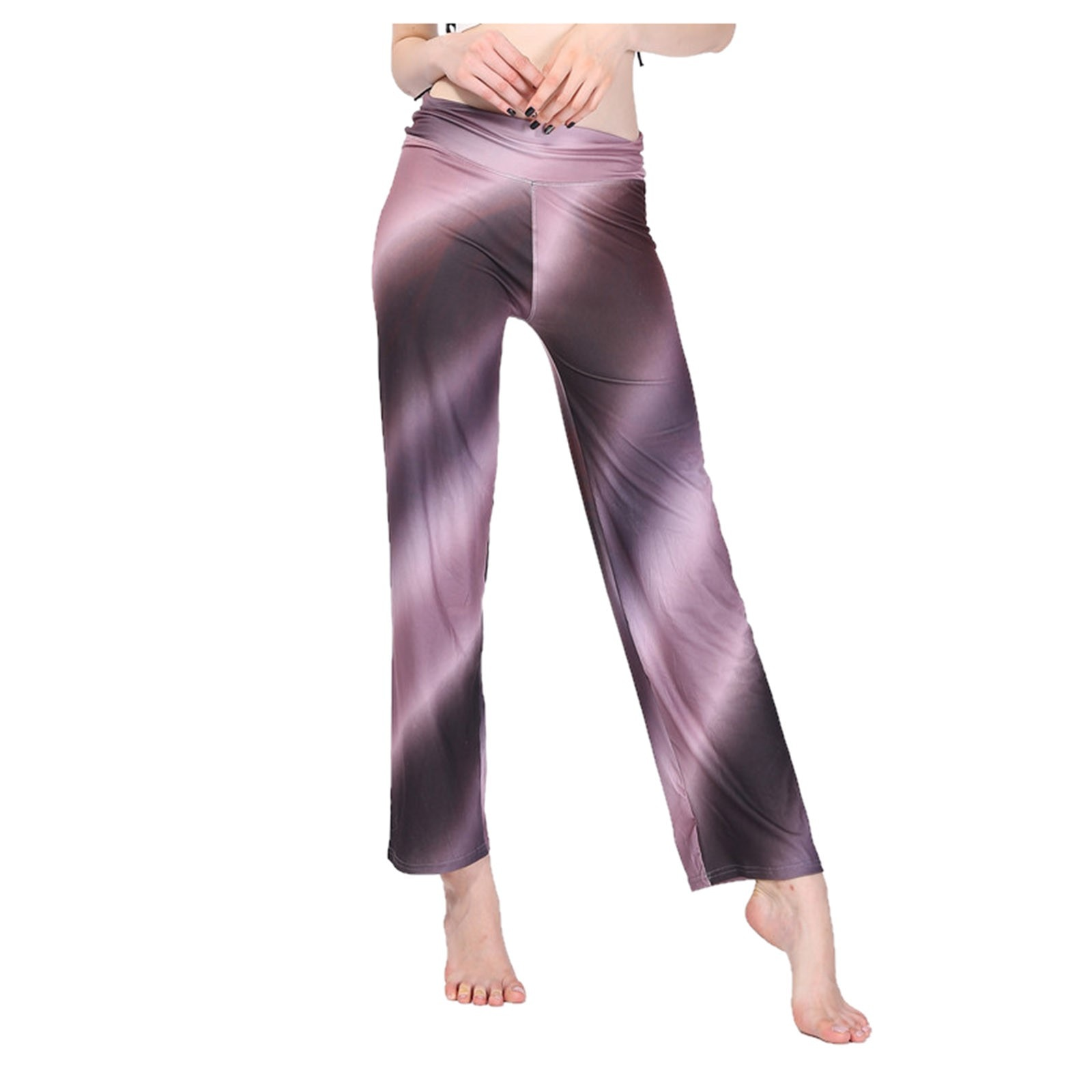 Womens Loose Pants Floral Print Wide Leg Trousers Long Stretch Pants Loose Palazzo Trousers Pants Droppship