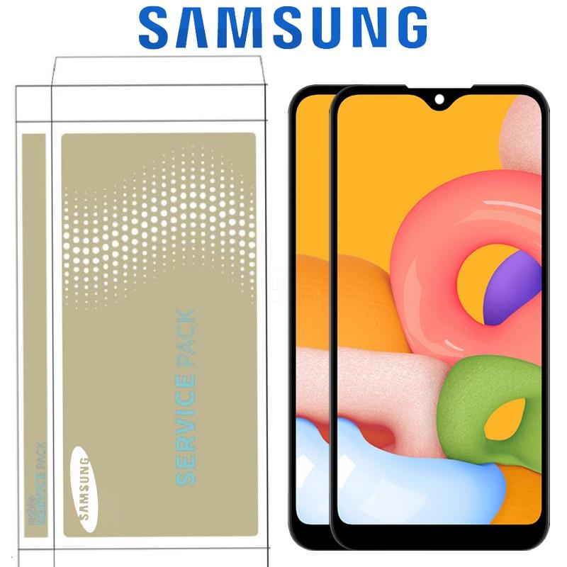 LCD Original de 5,7 pulgadas para Samsung Galaxy A01 A015 A015F A015G A015DS pantalla LCD con digitalizador de reemplazo de pantalla táctil