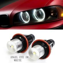 Ampoules lumineuses Angel Eyes 10W   Nouveau, ampoules blanches pour BMW E39 E60 E63 E64 E53
