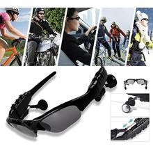 Lunettes de soleil cyclisme équitation Bluetooth écouteur Smart Mic Sport vélo lunettes de soleil en plein air sans fil avec casque lunettes Y4J1