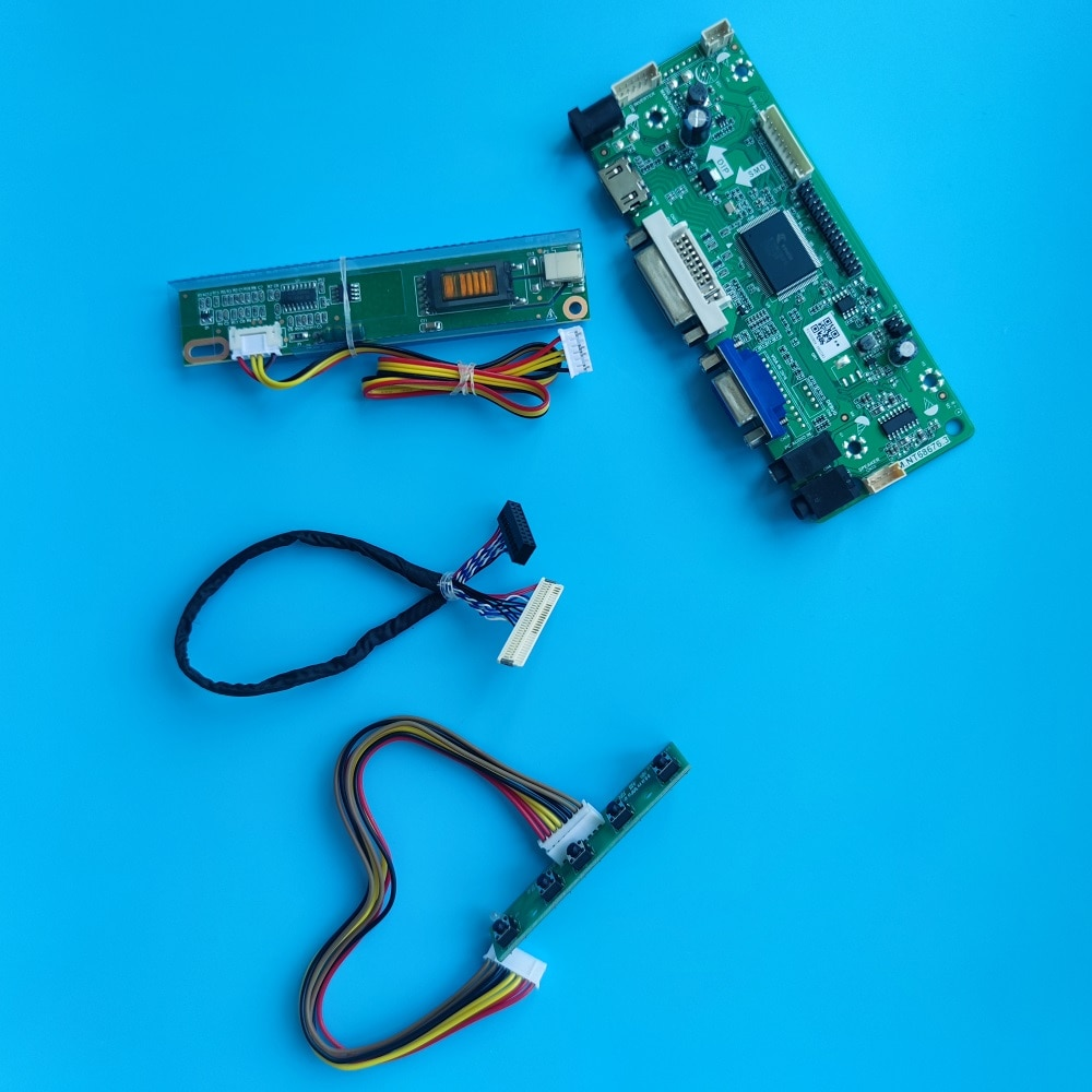 M.NT68676 LCD DVI VGA طقم لوحة تحكم ل LP154W01-TP01/A5K1/A1/A3/A3K1/A3K2/A3K3 لوحة 1280X800 15.4