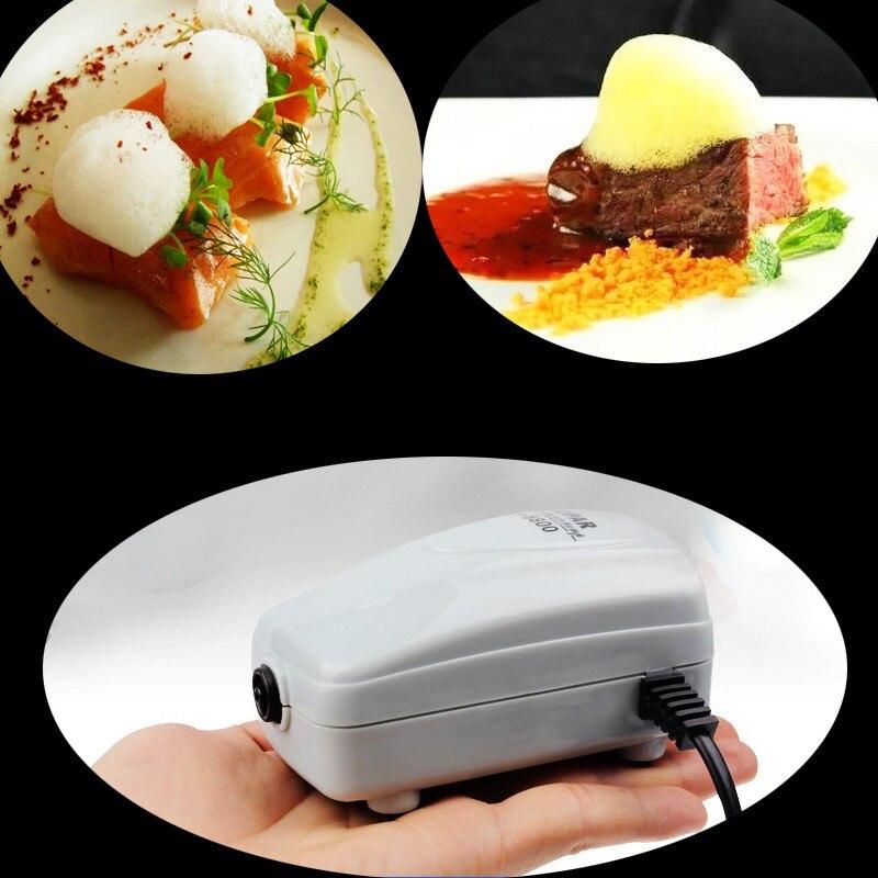 Chef Molecular Cooking Tool Gourmet Foam Generator with Soft Phospholipid Bubble Machine Supplies Ki