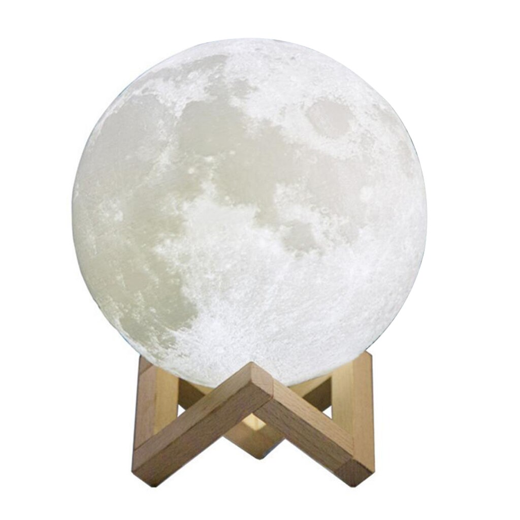 3D Magical Moon Lamp USB Charging LED Night Light Moonlight Touch Sensor Lamp