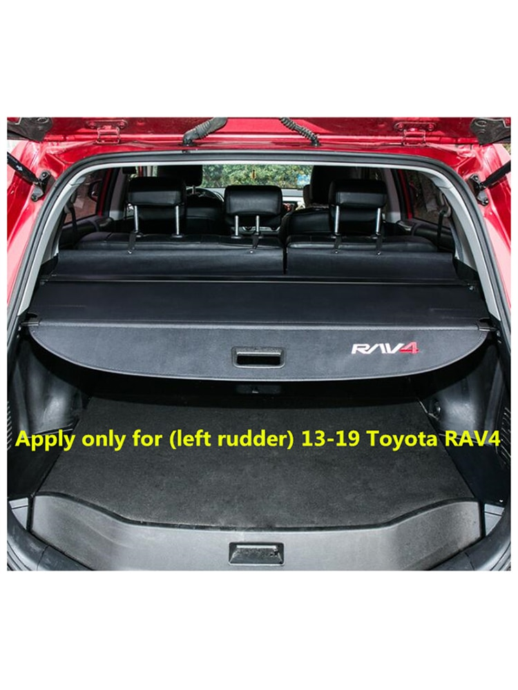 14 to 19 for Toyota  new RAV4 trunk cover curtain Dedicated modified decorative tail box partition pad decorative accessories