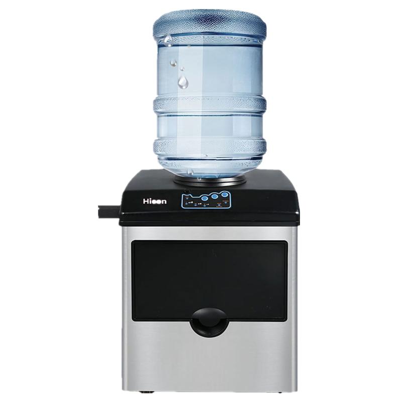Машина для изготовления льда, электрическая промышленная или Бытовая настольная автоматическая машина для приготовления льда, кубиков льд...