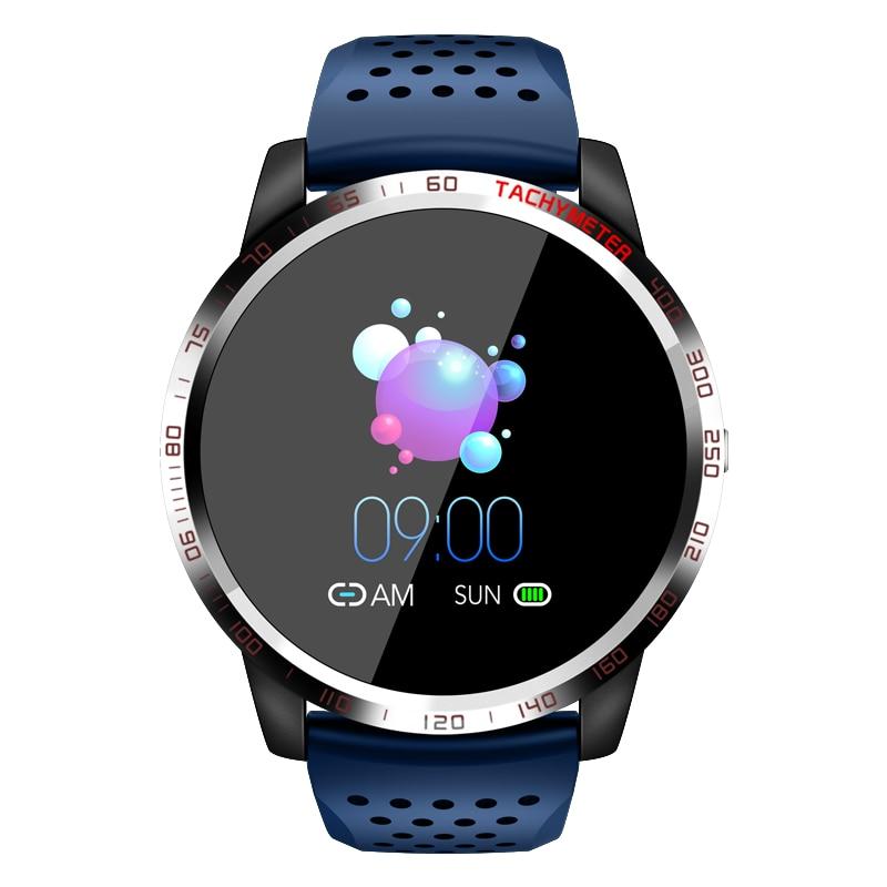 Reloj inteligente W3 plus para IOS y Android, reloj inteligente deportivo con control del ritmo cardíaco y completamente táctil