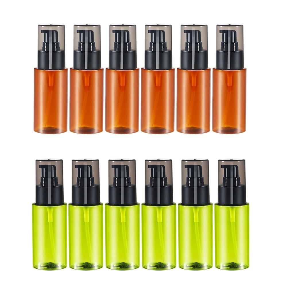 6 pièces bouteilles de pulvérisation vides   Pulvérisateur rechargeable 60ml pour stocker lhuile essentielle/Lotion/eau   Conteneurs de pulvérisateur à gâchette durables