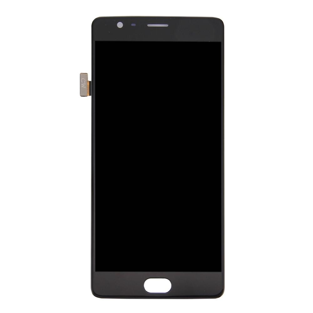 LCD Screen and Digitizer Full Assembly for OnePlus 3 (A3003 Version)(Black) enlarge