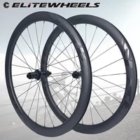 elitewheels road disc carbon wheels 28mm wide 45mm depth center lock 6 bolt lock hub 24 24h for cyclocross road cycling wheelset