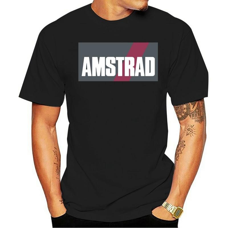 Camiseta estampada de algodón para hombre, camiseta de manga corta NDVH Amstrad...