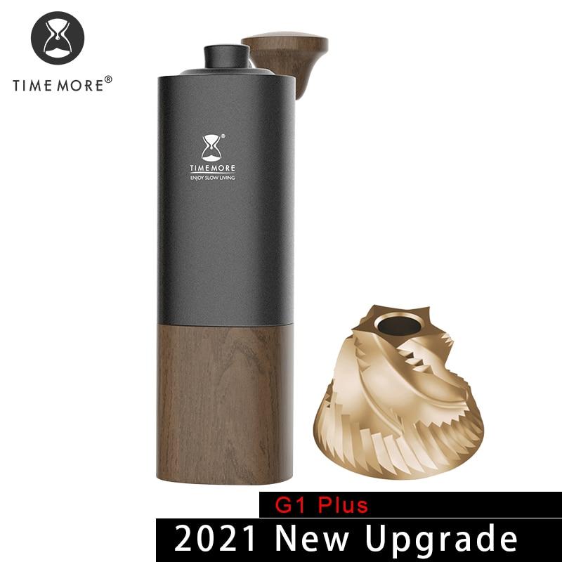 TIMEMORE Store G1plus حتى دليل طاحونة القهوة لدغ اليد قابل للتعديل إرسال فرشاة تنظيف