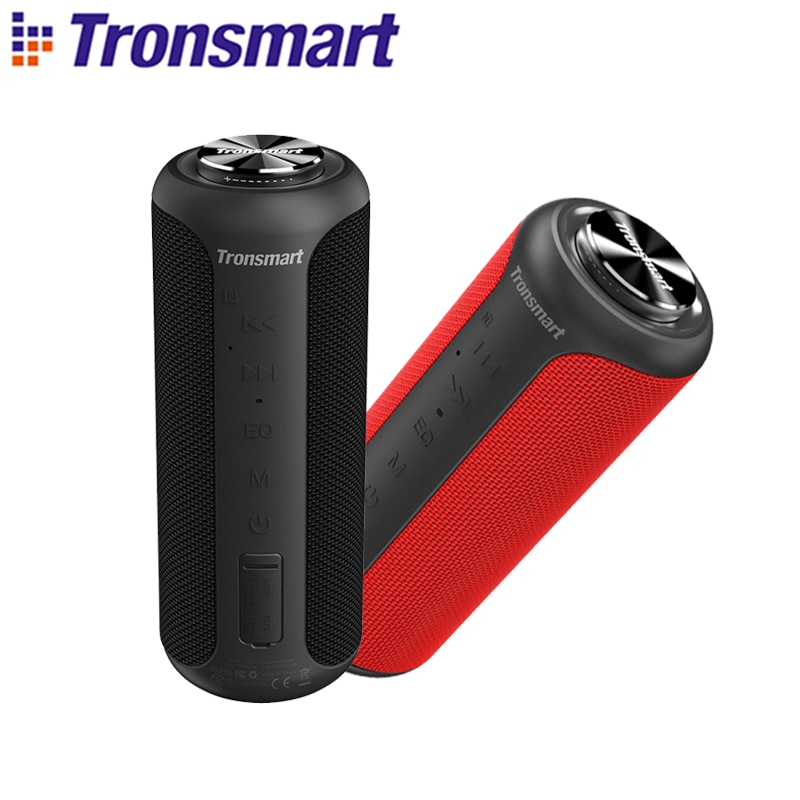 Tronsmart T6 Plus (Upgraded Edition) Bluetooth 5.0 Speaker 40W Portable TWS Speaker IPX6 Column with