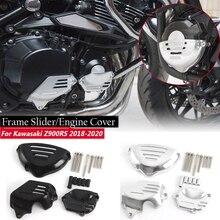 Z900 RS  Z 900RS Engine Guard Cover Frame Slider Stator Protector Set for 2018-2019 Kawasaki Z900RS  18 19