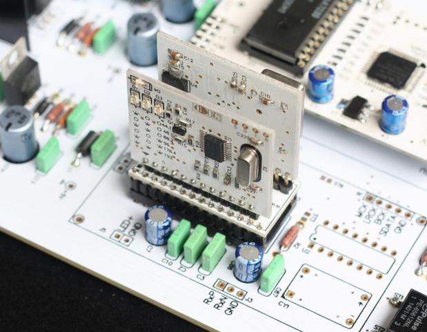 Módulo receptor Digital WM8805, Control suave de salida I2S, Compatible con CS8412, hasta 192K