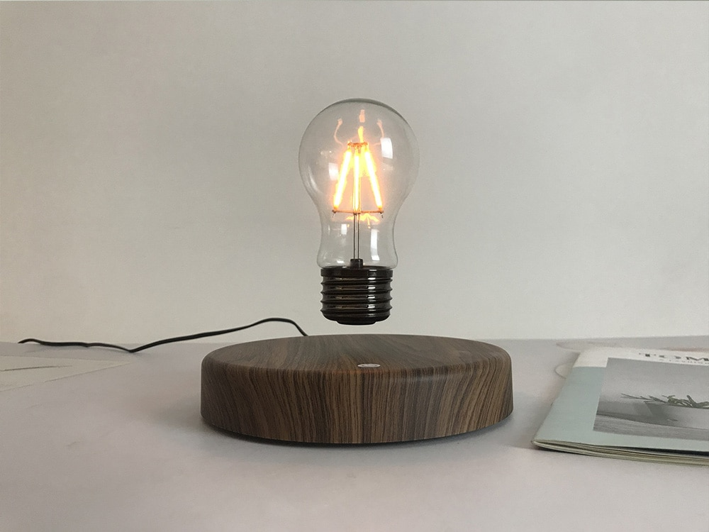 Holiday Gifts Magnetic Levitation Bulb Small Night Lamp Desktop Decorative Table Lamp Novel Ornaments Light Bedroom for Baby Led enlarge