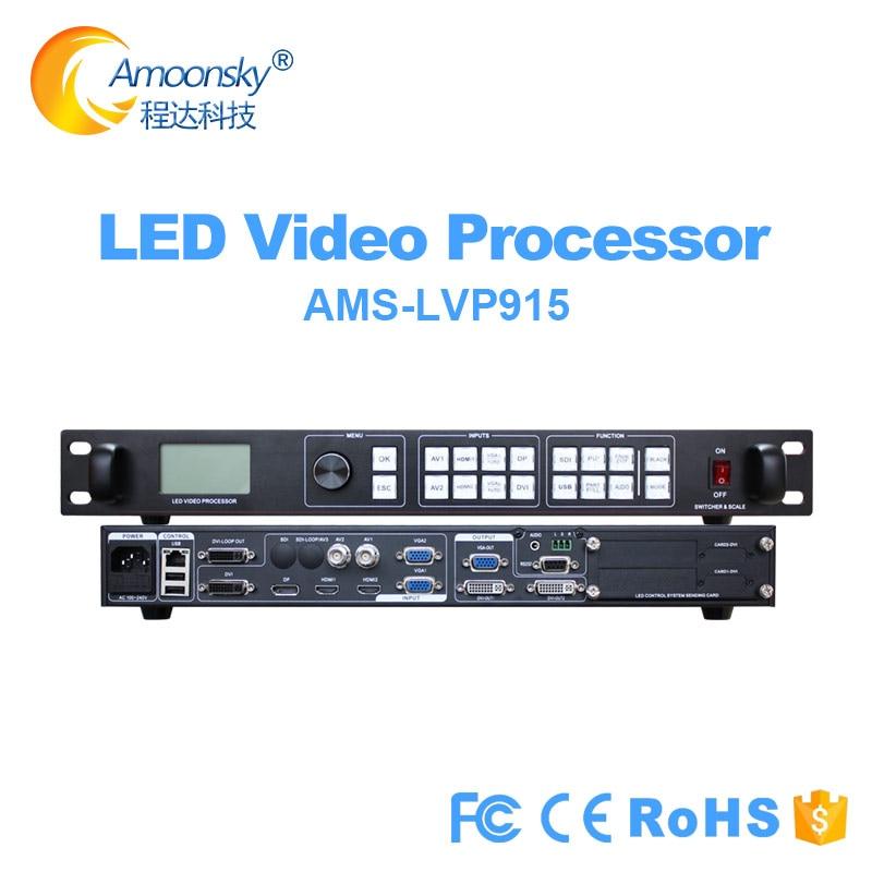 Lvp915 pip full color led controller same vdwall lvp605 615 led video processor For p2 p4 p2.5 p3.91 p10 p16 led display module