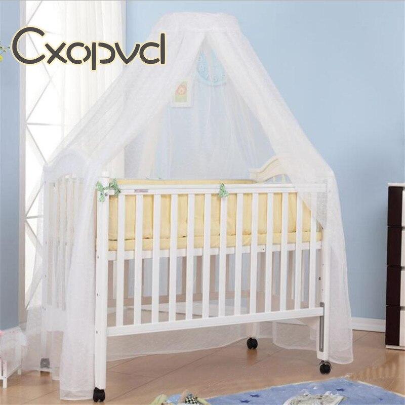 Детская кроватка для малышей, Купольные детские кроватки, москитная сетка, подвесная сетка для кровати, москитная сетка, детские принадлежн...