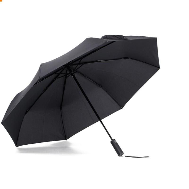 XIAOMI MIJIA KG paraguas soleado plegable automático de gran tamaño portátil hombres mujeres paraguas protector solar lluvia a prueba de viento UV playa par