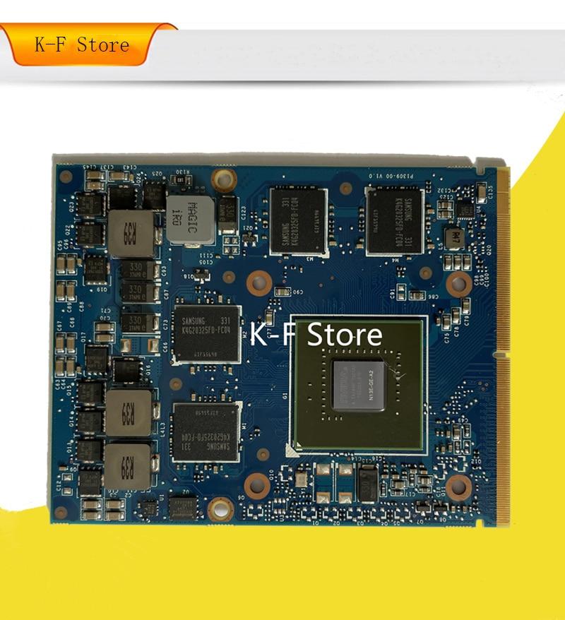 GTX 660M GTX660M 2GB GDDR5 الرسومات VGA بطاقة فيديو لديل من ALIENWARE M17x R4 M18x R2 M15X M17X R3 R4 N13E-GE-A2