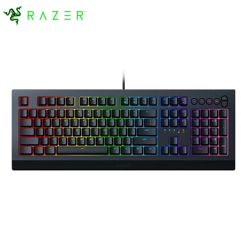 Review Razer Cynosa V2 Customizable Chroma RGB Membrane Gaming Keyboard-Individually Backlit Keys – Spill-Resistant Design