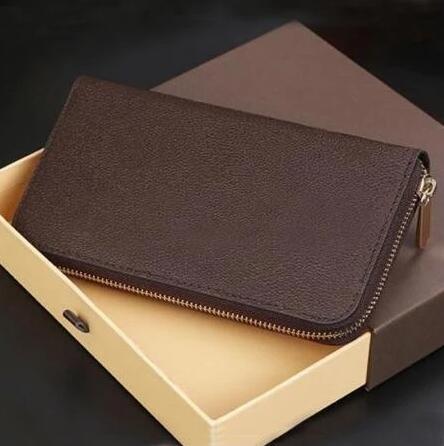 cartera de cuero genuino para hombre y mujer, billetera de cuero genuino de alta calidad, Emili, con caja y bolsas antipolvo, 20 недорого