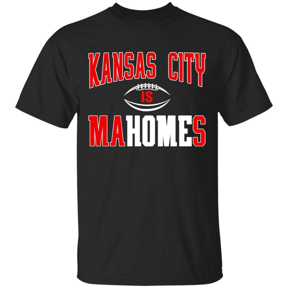 Camiseta negra de manga corta All Go Out Youth Kansas City Is Mahomes M-3Xl Harajuku